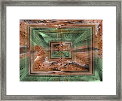Rechtecke Framed Print