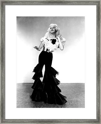 Reckless, Jean Harlow, 1935 Framed Print by Everett