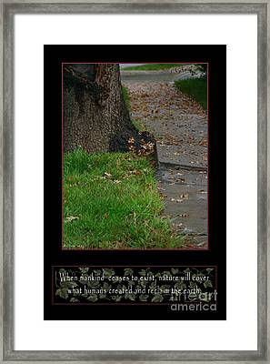 Reclaim No.12 Framed Print