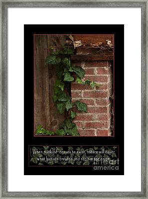 Reclaim No.2 Framed Print