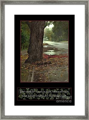 Reclaim No.9 Framed Print