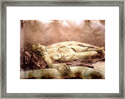 Recline 1 Framed Print by Steve Spagnola