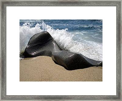 Reclining Beauty Framed Print