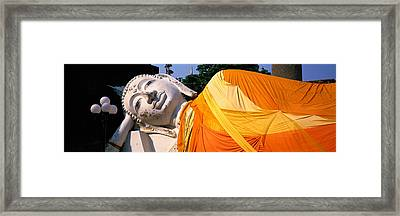 Reclining Buddha Ayudhaya Thailand Framed Print by Panoramic Images