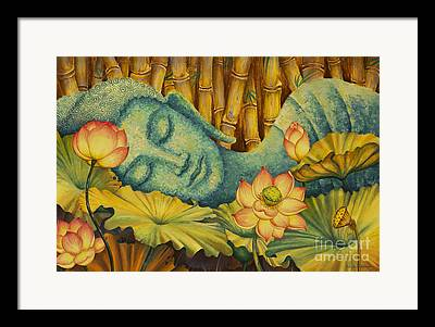 Gautama Framed Prints
