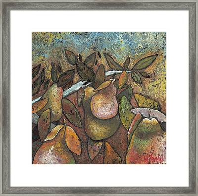 'recognized By It's Fruit' Framed Print
