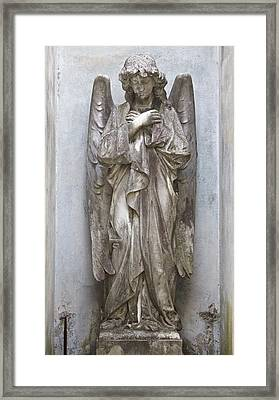 Recoleta Angel Framed Print