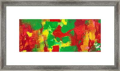 Recombinant Landscape 3 Framed Print by Paul Ashby