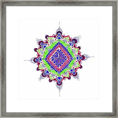 Reconciliation Framed Print by Marie Parker