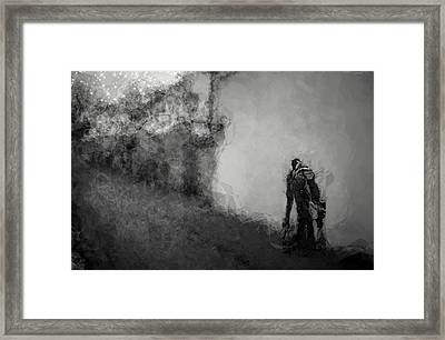 Reconnoiter Framed Print by Wendy J St Christopher