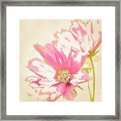 Reconstructed Flower #6 Framed Print