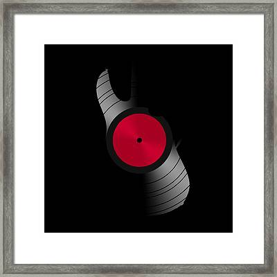 Record 4 Framed Print
