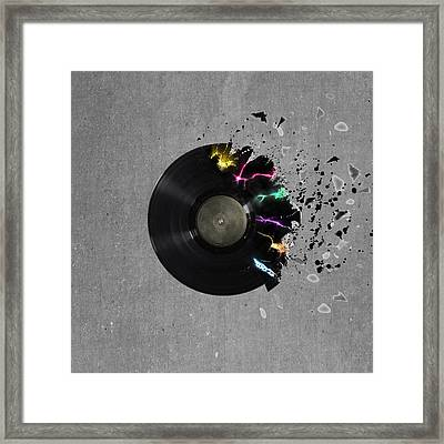 Record Framed Print