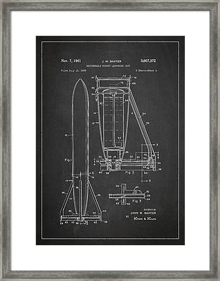 Recoverable Rocket Launching Unit Framed Print by Aged Pixel