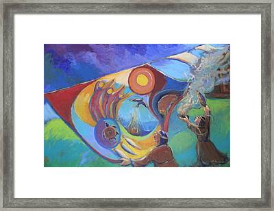Recovery And Redemption Framed Print