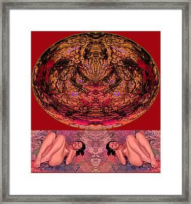 Recreate My Natural Self 2014 Framed Print by James Warren