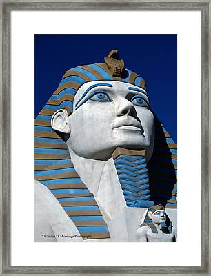 Recreation - Great Sphinx Of Giza Framed Print
