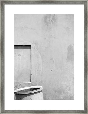 Rectangle Or A Square?  Framed Print