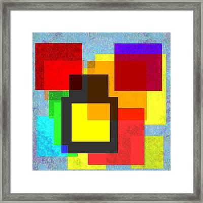 Rectangular Framed Print by George Curington