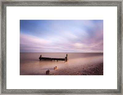 Reculver Bay Framed Print