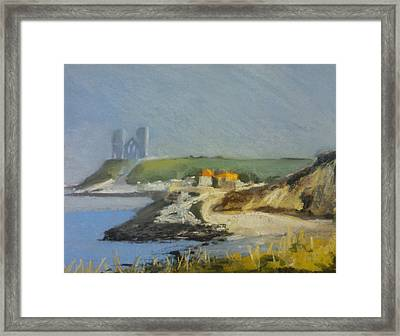 Reculver Haze Framed Print by Paul Mitchell
