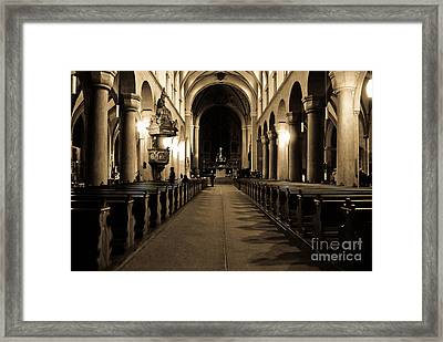 Recursive Reality Framed Print by Syed Aqueel