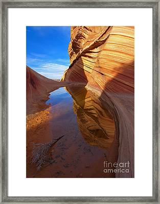 Recurve Framed Print by Mike  Dawson