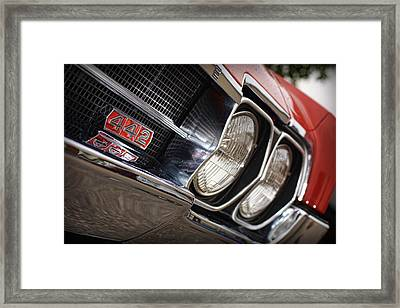 Red 1966 Olds 442  Framed Print by Gordon Dean II