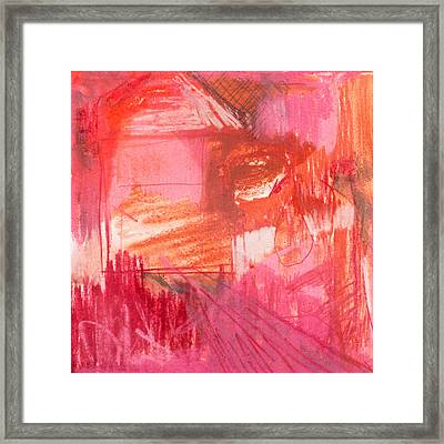 Red. 2 Framed Print by Marie Tosto
