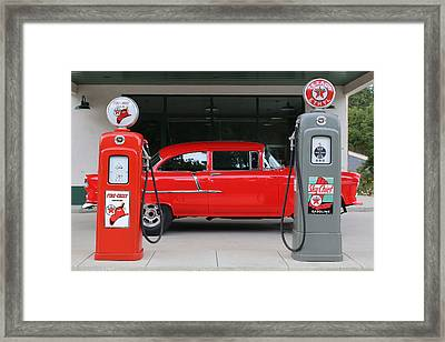 Red 55 Framed Print