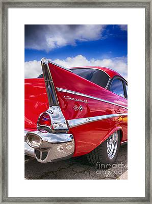 Red 57 Hdr Framed Print by Tim Gainey