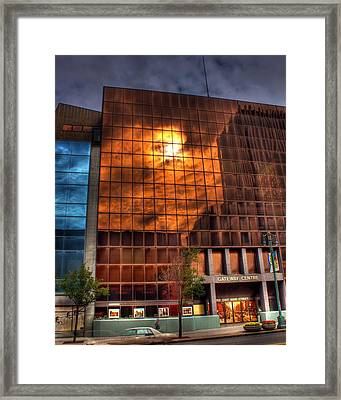 Red And Blue Framed Print by Tim Buisman