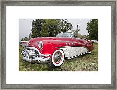 Red And White Classic Framed Print by Liane Wright