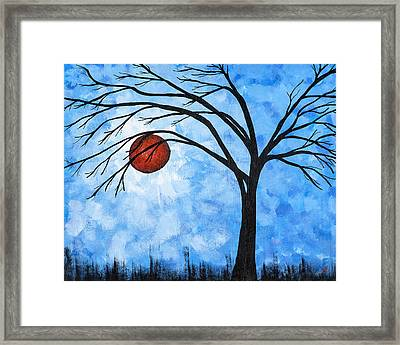 Red April Framed Print by Melissa Smith
