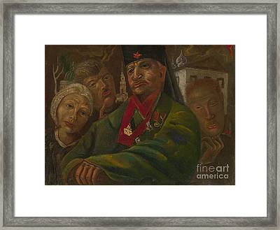 Red Army General Framed Print