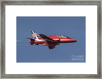 Red Arrows 50 Display Seasons Framed Print by J Biggadike