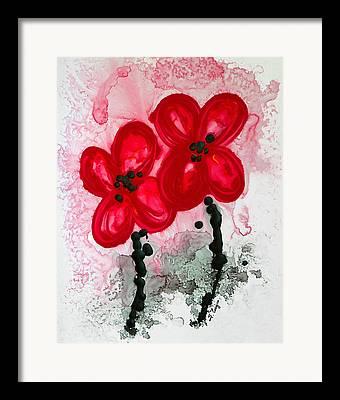 Oriental Poppy Framed Prints