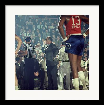 Red Auerbach Framed Prints