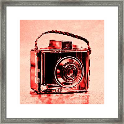 Red Baby Brownie Special Framed Print