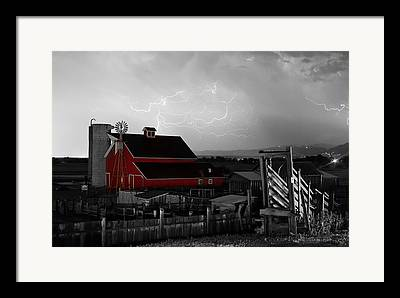 Lohr-mcintosh Farm Framed Prints