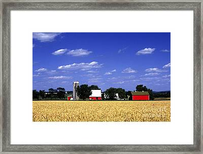 Red Barn Framed Print by Paul W Faust -  Impressions of Light
