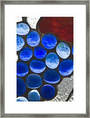 Red Blue Framed Print