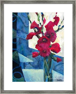 Red Bouquet 2 Framed Print