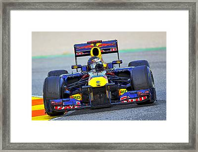 Red Bull Formula 1 Racing Framed Print
