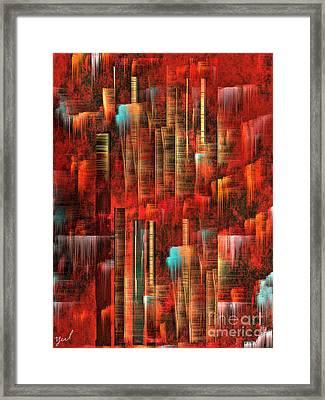 Concrete Jungle Framed Print by Yul Olaivar