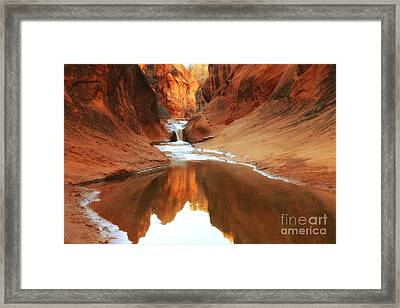 Red Cliffs Symphony Framed Print