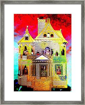 Red Cloud Mansion Framed Print