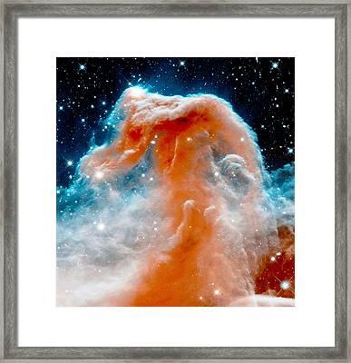 Red Cloud Walker Framed Print