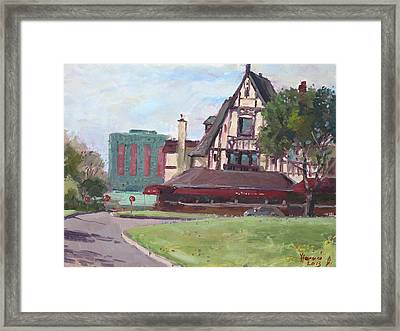 Red Coach Inn-restaurant Framed Print by Ylli Haruni