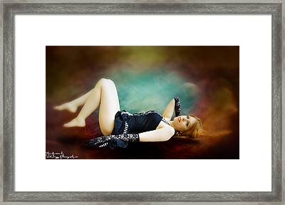 Red Cocoon Framed Print by Rick Buggy